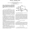 The effect of switch resistance on pipelined ADC MDAC settling time