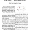 The Effects of Multi-Layer Traffic on the Survivability of IP-Over-WDM Networks