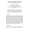 The Effects on Topic Familiarity on Online Search Behaviour and Use of Relevance Criteria