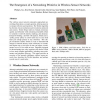 The emergence of a networking primitive in wireless sensor networks