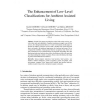 The Enhancement of Low-Level Classifications for Ambient Assisted Living