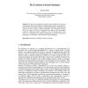 The Evolution of Social Ontologies