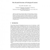The Formal Structure of Ecological Contexts