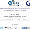 The gist of everything new: personalized top-k processing over web 2.0 streams