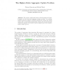 The Higher-Order Aggregate Update Problem
