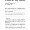 The Hollowman: An Innovative ATM Control Architecture