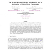 The Hyper Tableaux Calculus with Equality and an Application to Finite Model Computation