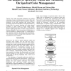 The Impact of Spectrally-Stable Ink Variability on Spectral Color Management