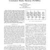 The Improved Correlation Matrix Memory (CMML)