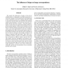 The Influence of Shape on Image Correspondence