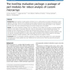 The IronChip evaluation package: a package of perl modules for robust analysis of custom microarrays