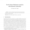 The linear Boltzmann equation with inelastic scattering