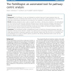 The PathOlogist: An Automated Tool for Pathway-Centric Analysis