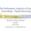 The performance analysis of linux networking - Packet receiving