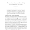 The proof-theoretic analysis of transfinitely iterated quasi least fixed points