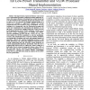 The Quality-Energy Scalable OFDMA Modulation for Low Power Transmitter and VLIW Processor Based Implementation