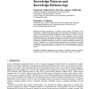The Quality of Knowledge: Knowledge Patterns and Knowledge Refactorings