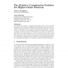 The Relative Complement Problem for Higher-Order Patterns