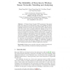 The Reliability of Detection in Wireless Sensor Networks: Modeling and Analyzing