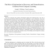 The Role of Explanation in Discovery and Generalization: Evidence From Category Learning