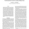The Self Organization of Context for Learning in MultiAgent Games