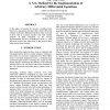 The tau-cell: a new method for the implementation of arbitrary differential equations