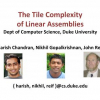 The Tile Complexity of Linear Assemblies