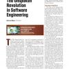 The Unspoken Revolution in Software Engineering