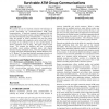 The use of hop-limits to provide survivable ATM group communications