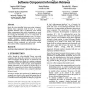 The use of mediation and ontology technologies for software component information retrieval