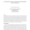 The Virtual Service Grid: an architecture for delivering high-end network services