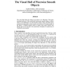 The visual hull of piecewise smooth objects
