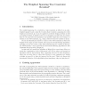 The Weighted Spanning Tree Constraint Revisited