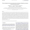 Three and higher dimensional autonomous formations: Rigidity, persistence and structural persistence