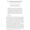Three-Dimensional Kneed Bipedal Walking: A Hybrid Geometric Approach