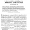 Time-Constrained Failure Diagnosis in Distributed Embedded Systems