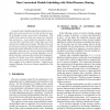Time Constrained Modulo Scheduling with Global Resource Sharing