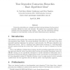 Time Dependent Contraction Hierarchies -- Basic Algorithmic Ideas