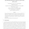Time-dependent performance analysis of a discrete-time priority queue