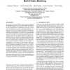 Top-k dominant web services under multi-criteria matching