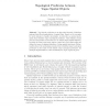 Topological Predicates Between Vague Spatial Objects