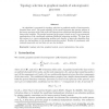 Topology Selection in Graphical Models of Autoregressive Processes