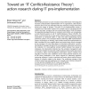 Toward an 'IT Conflict-Resistance Theory': action research during IT pre-implementation