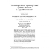 Toward Logic-Based Cognitively Robust Synthetic Characters in Digital Environments