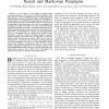Toward the border between neural and Markovian paradigms