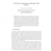 Toward the Composition of Semantic Web Services