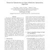 Toward the Optimization of a Class of Black Box Optimization Algorithms