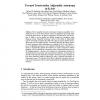 Toward Trustworthy Adjustable Autonomy in KAoS