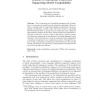 Towards a Conceptual Framework Supporting Model Compilability