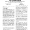 Towards a definition of robustness for market-style open multi-agent systems